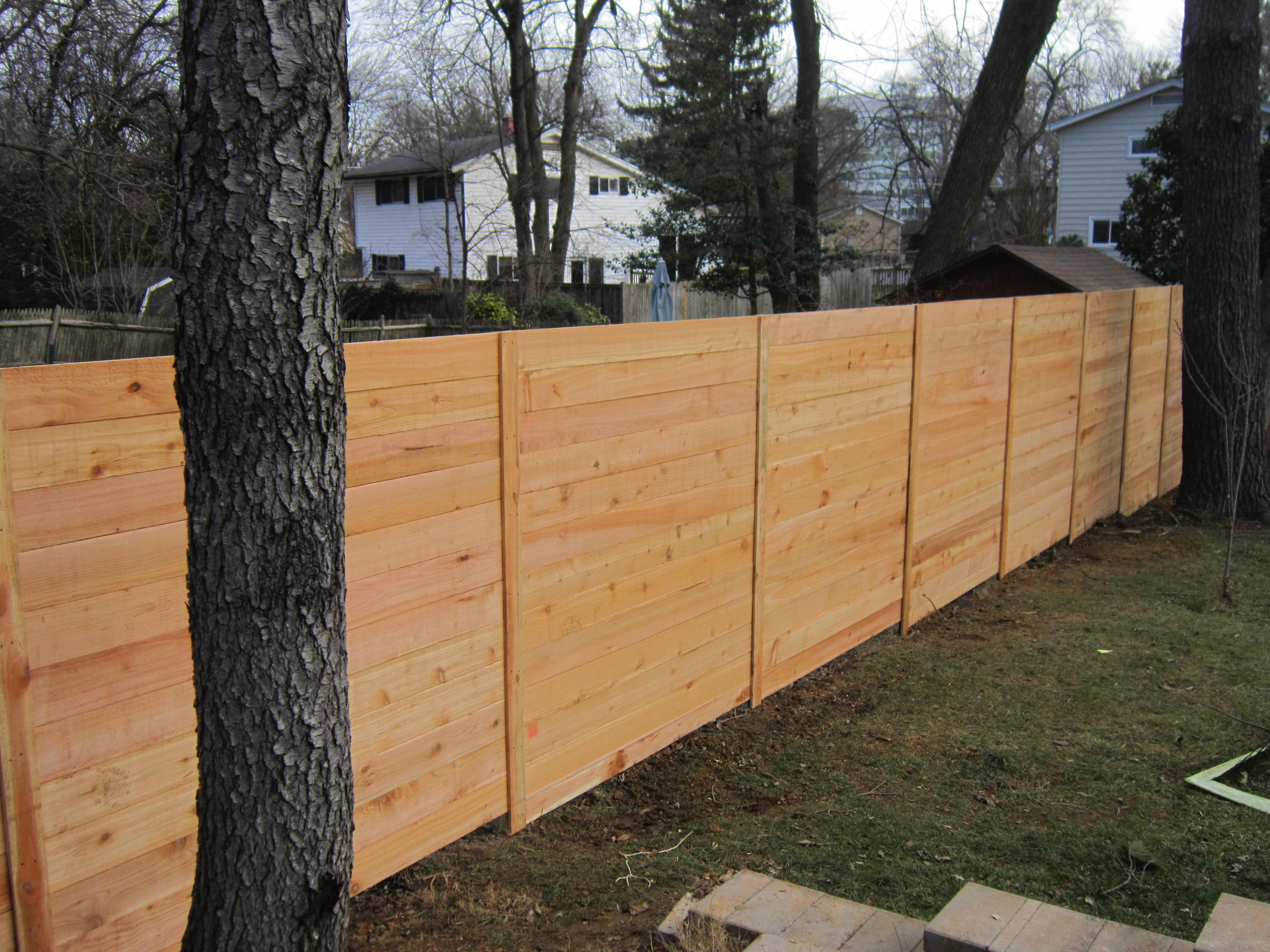 wood privacy capital fence 301 972 8400 serving dc md va