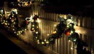 Lights Fence