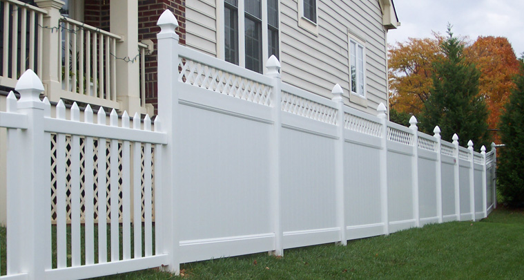 Poly-Vinyl Fencing